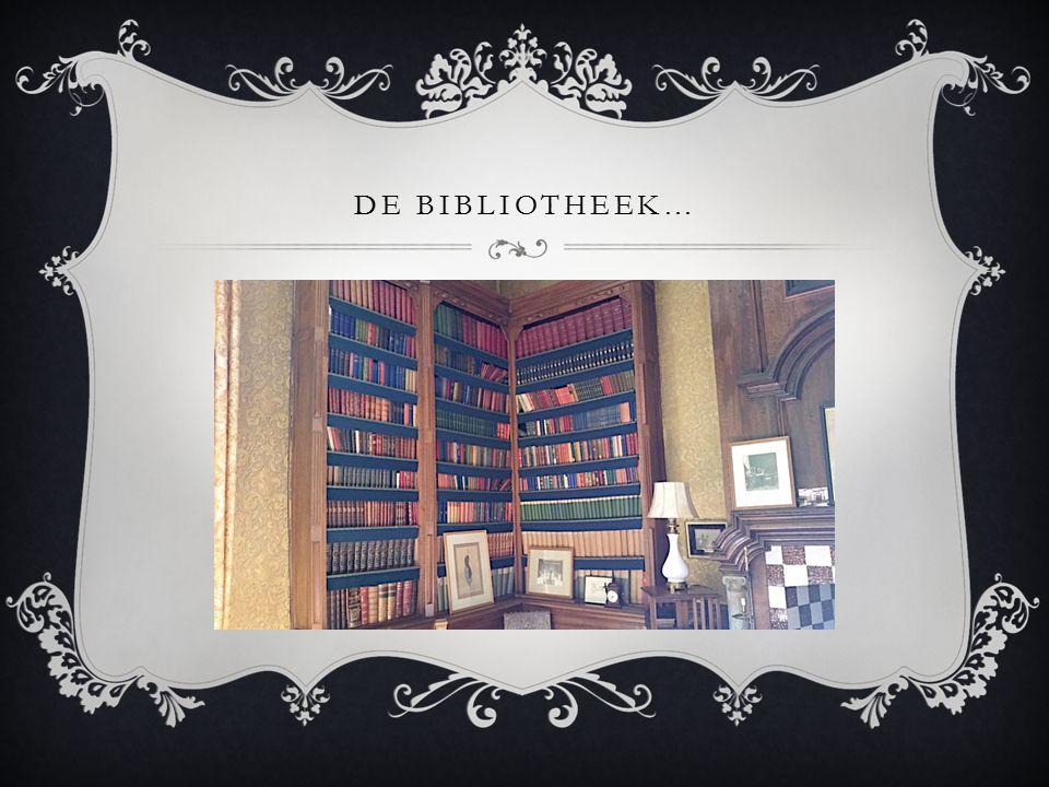 DE BIBLIOTHEEK…
