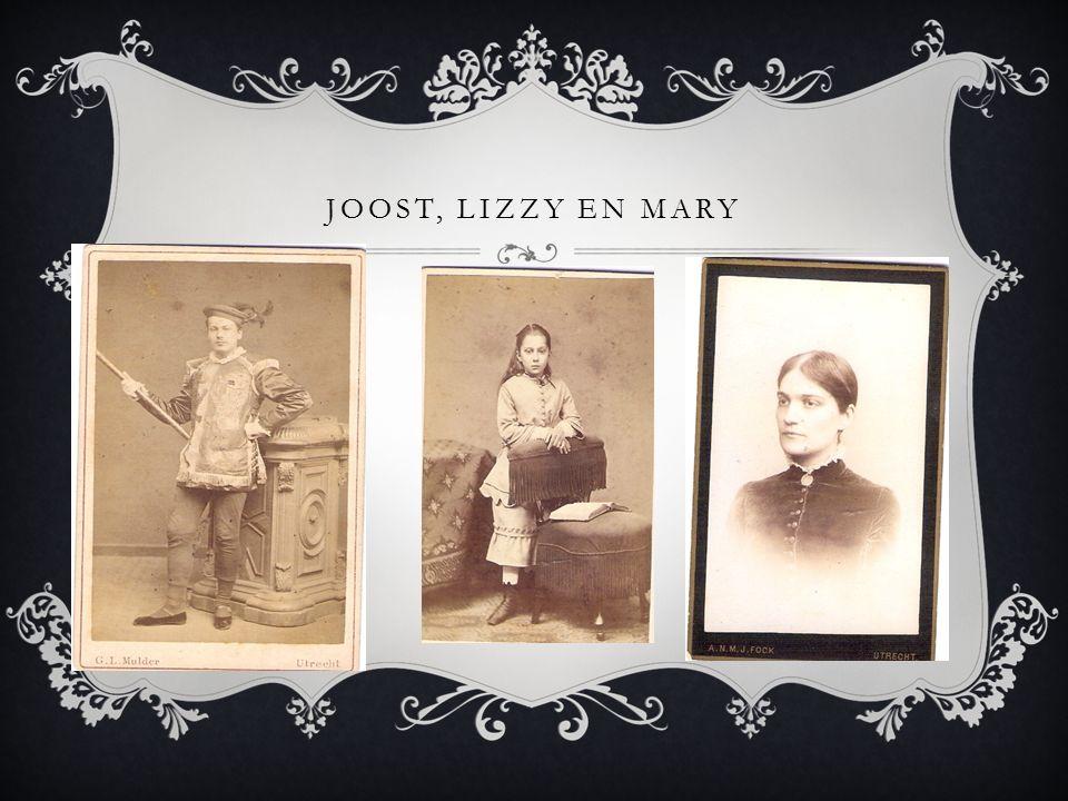 JOOST, LIZZY EN MARY