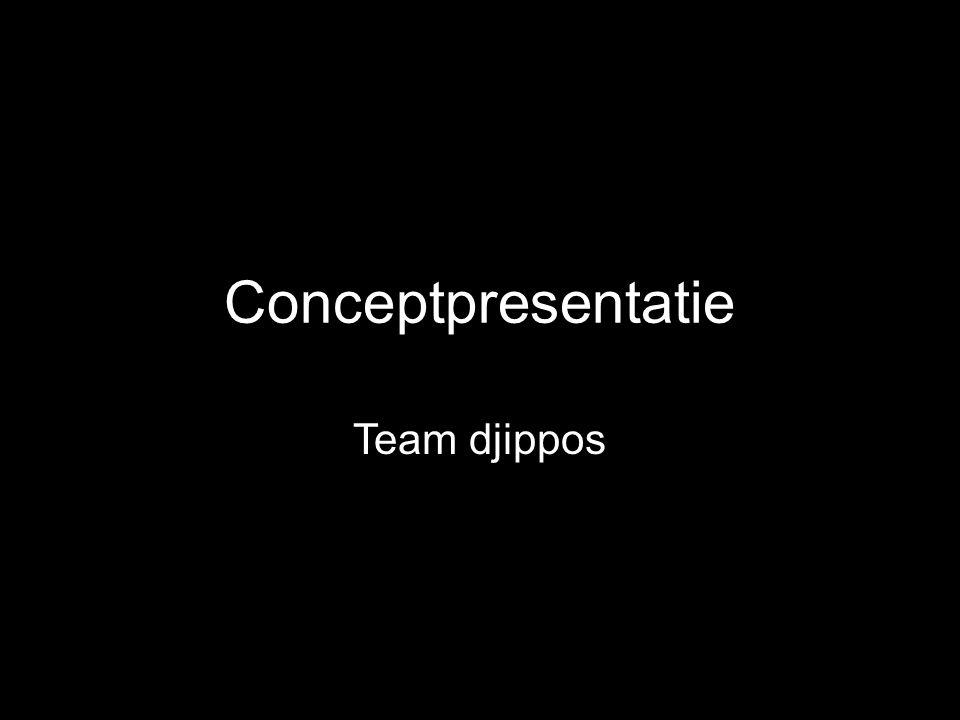 Conceptpresentatie Team djippos