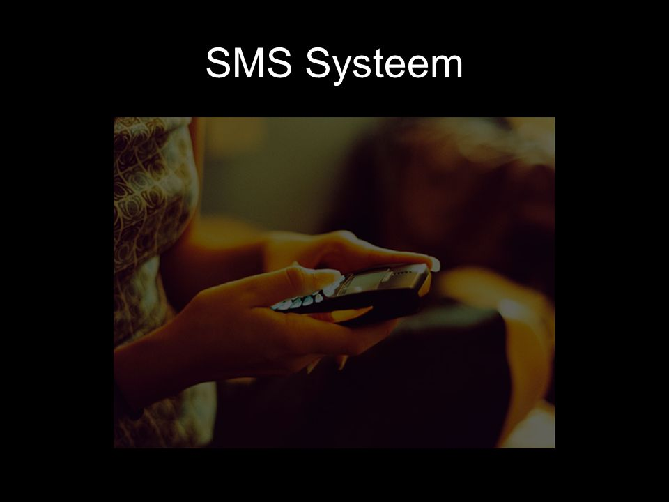 SMS Systeem