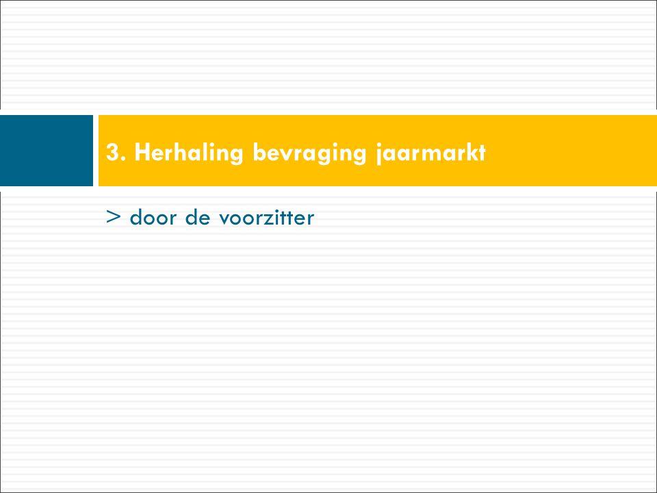 3.Jaarmarkt 2015 – Evaluatie standen 1.