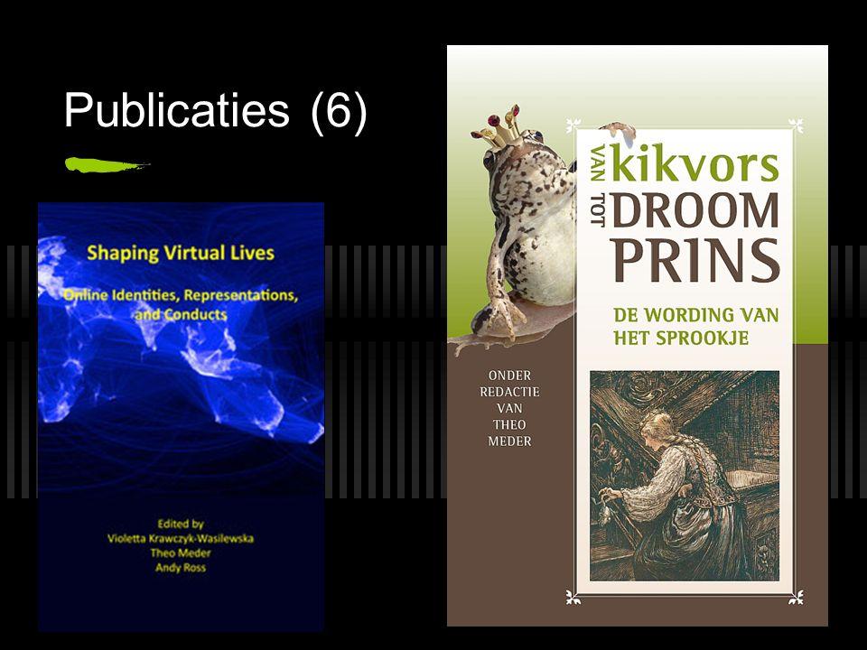 Publicaties (6)