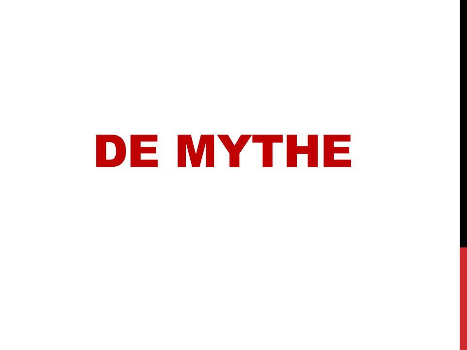 MODERN VERSUS KLASSIEK moderne mythe: een verhaal dat je gelooft om iets wetenschappelijks onverklaarbaar toch te begrijpen