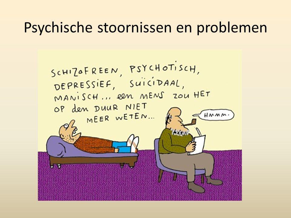 Psychische stoornissen en problemen