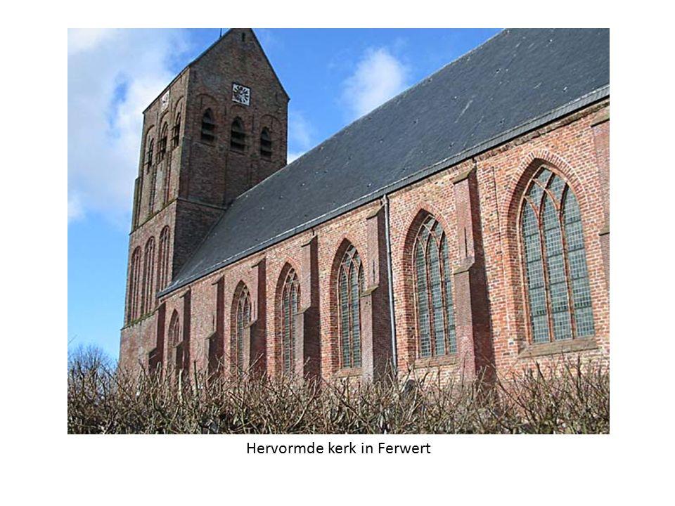 Hervormde kerk in Ferwert
