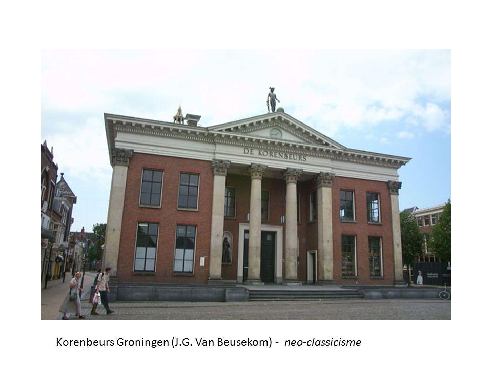 Korenbeurs Groningen (J.G. Van Beusekom) - neo-classicisme