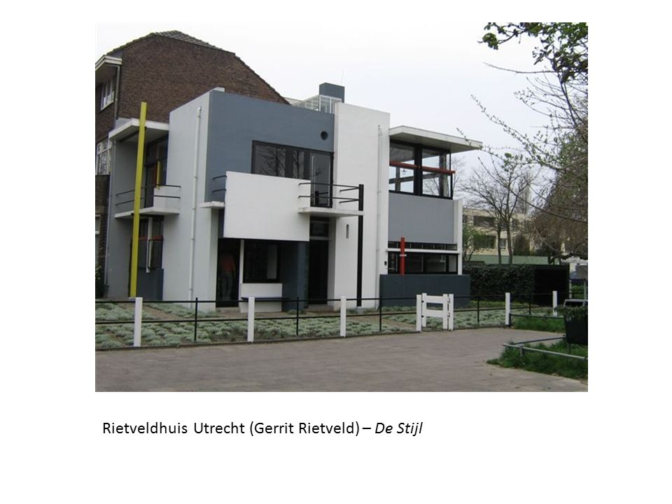 Rietveldhuis Utrecht (Gerrit Rietveld) – De Stijl