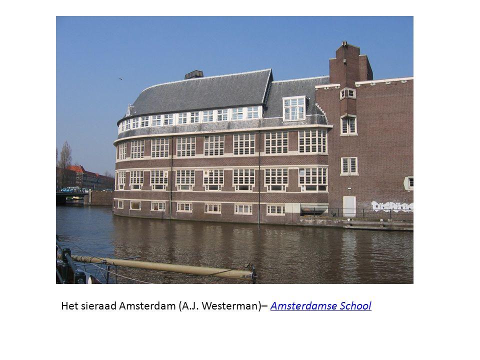 Het sieraad Amsterdam (A.J. Westerman)– Amsterdamse SchoolAmsterdamse School