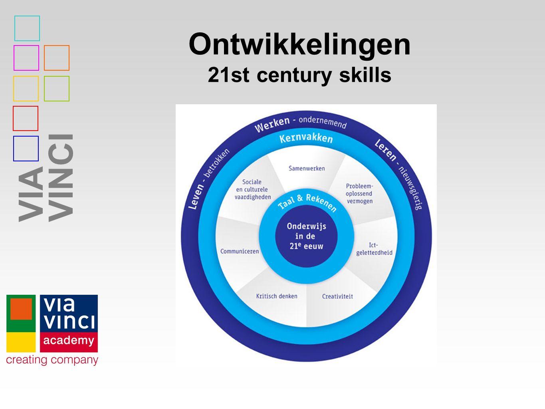VIAVINCI Ontwikkelingen 21st century skills