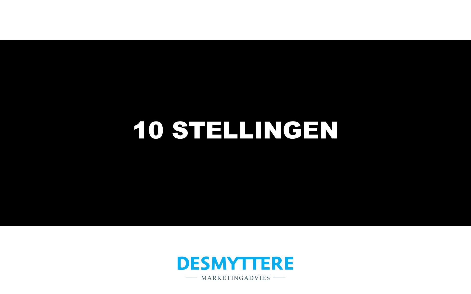 10 STELLINGEN