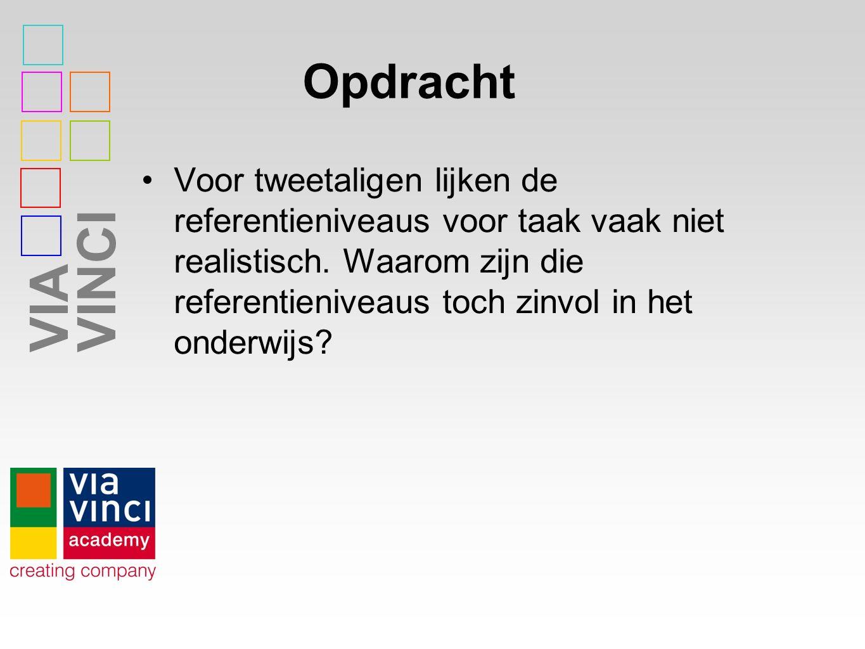 VIAVINCI Taalbeleid Wat wordt er bedoeld met de term taalbeleid.