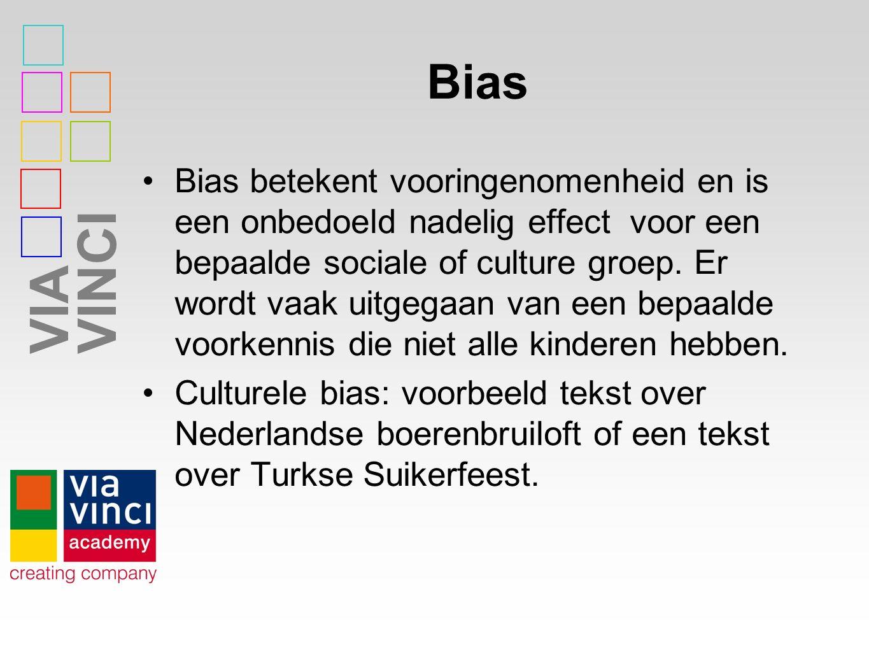 VIAVINCI Opdracht(en) Geeft de inhoud van de toets een goed beeld van iemands taalvaardigheid in het Nederlands.