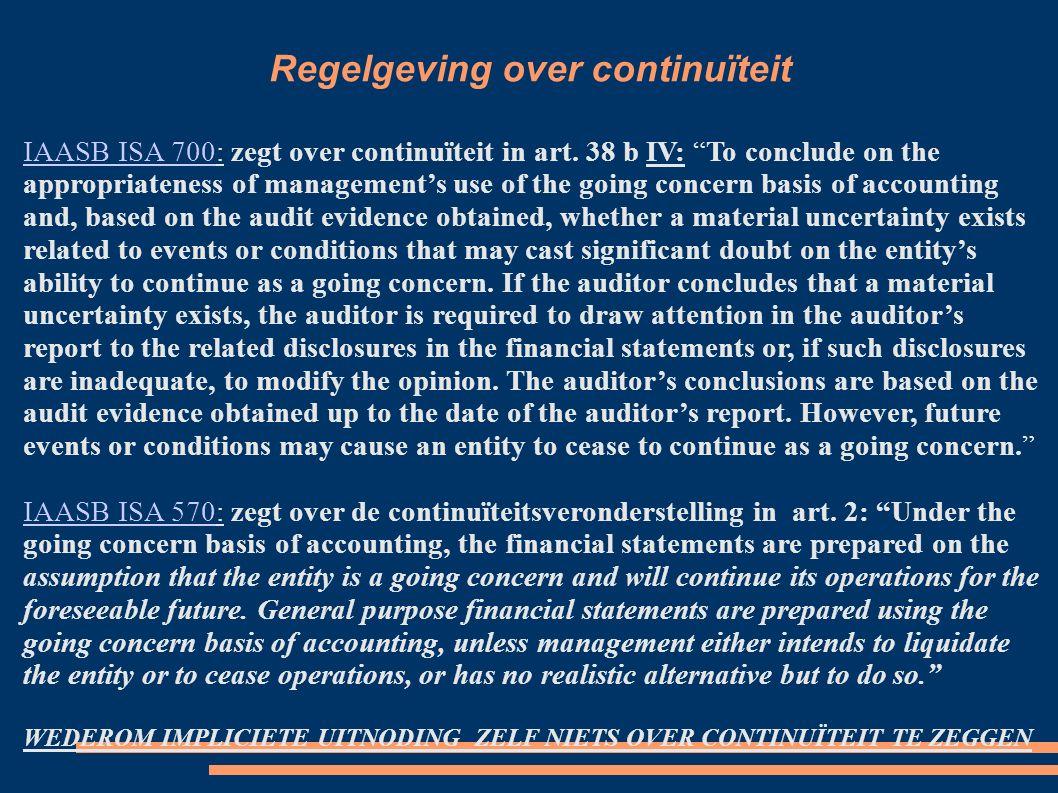Wat verwacht publiek van een verklaring.Accountantsdilemma.