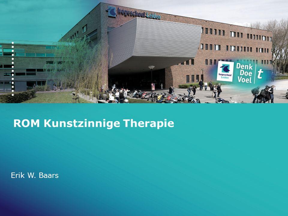 ROM Kunstzinnige Therapie Erik W. Baars