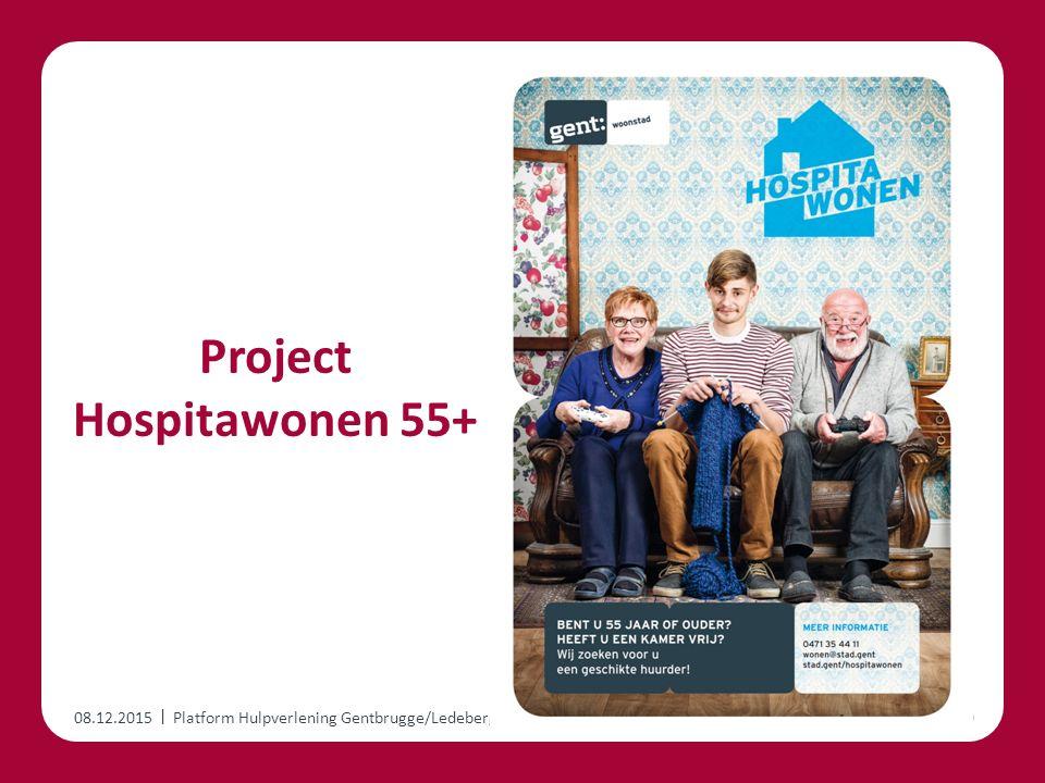 | Project Hospitawonen 55+ 08.12.2015Platform Hulpverlening Gentbrugge/Ledeberg10