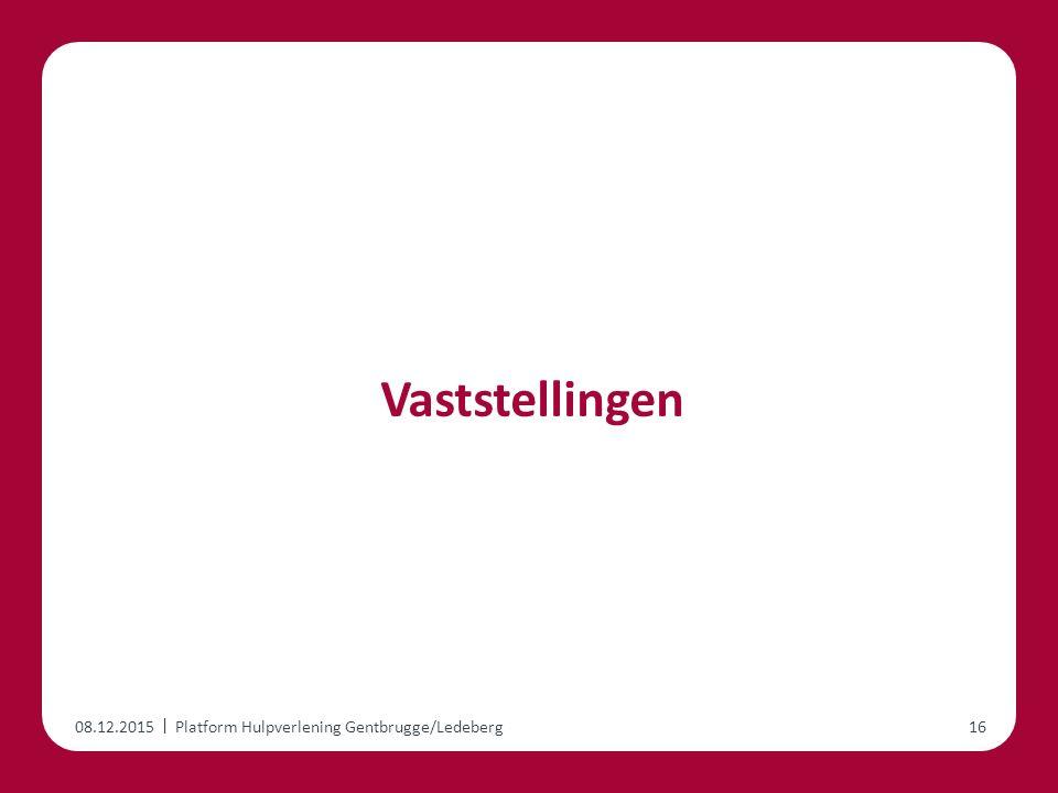 | Vaststellingen 08.12.2015Platform Hulpverlening Gentbrugge/Ledeberg16