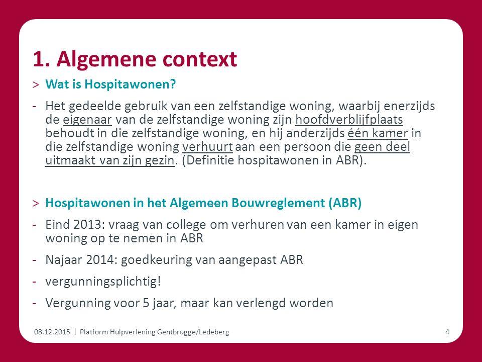 | 1. Algemene context ˃Wat is Hospitawonen.