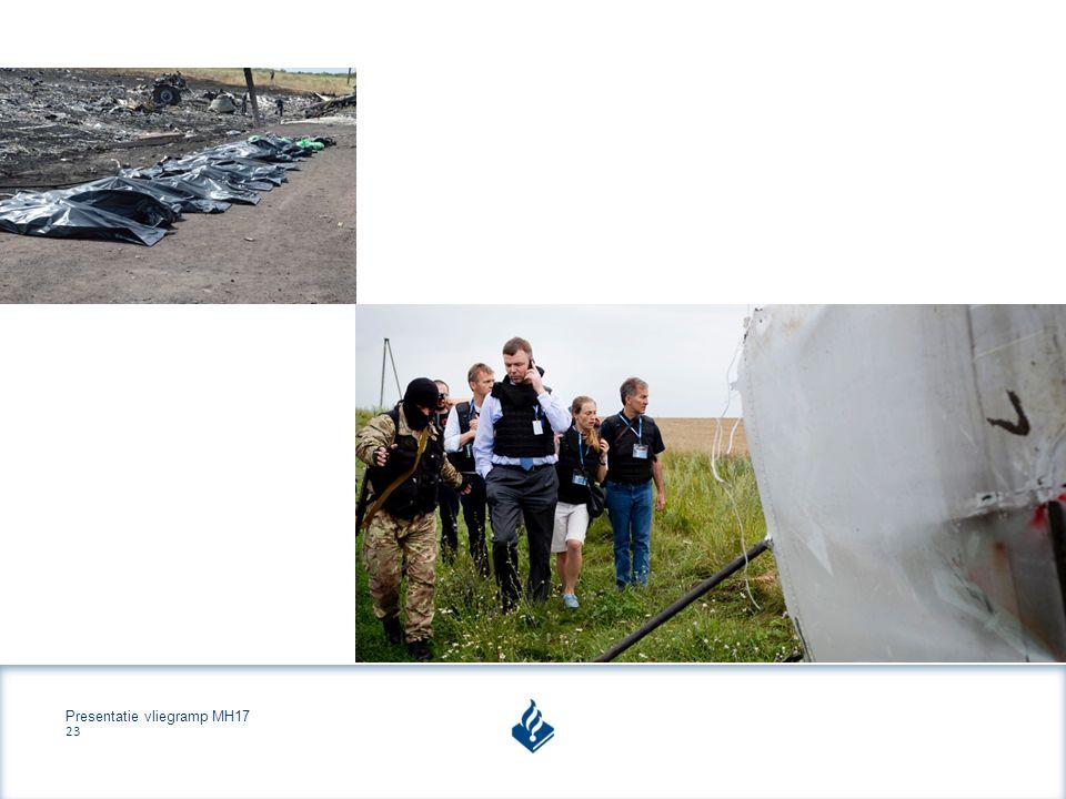 Presentatie vliegramp MH17 23