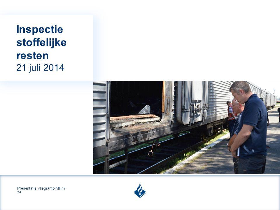 Presentatie vliegramp MH17 24 Inspectie stoffelijke resten 21 juli 2014