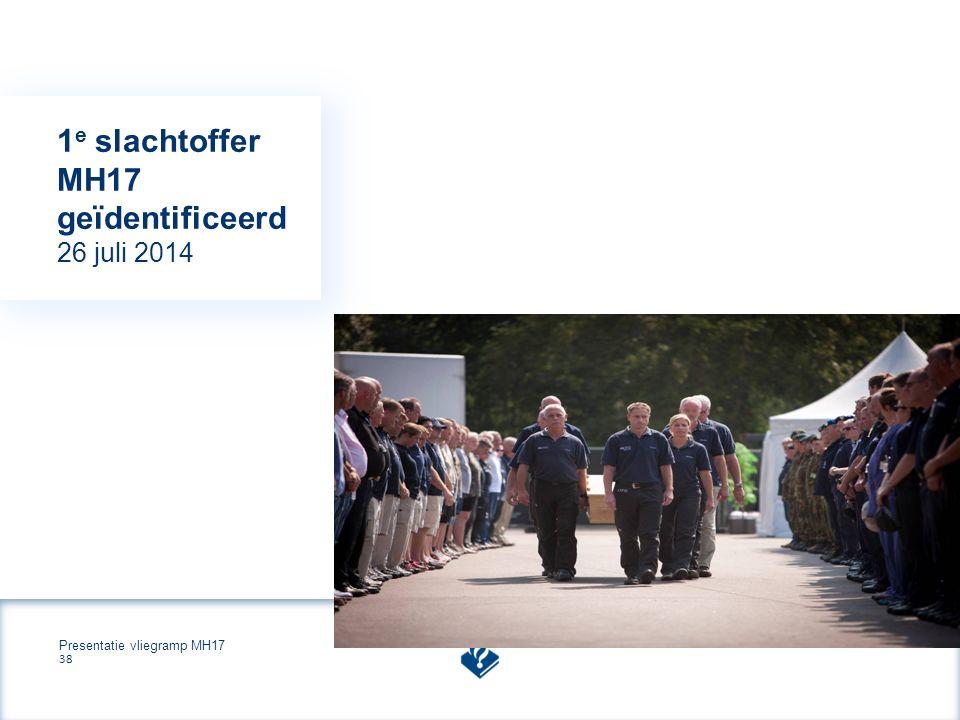 Presentatie vliegramp MH17 38 1 e slachtoffer MH17 geïdentificeerd 26 juli 2014