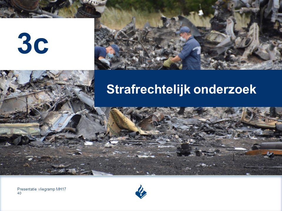Presentatie vliegramp MH17 40 Strafrechtelijk onderzoek 3c