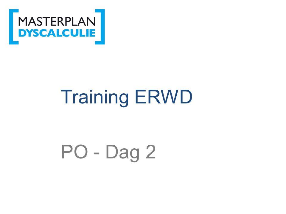 ERWD Training ERWD PO - Dag 2