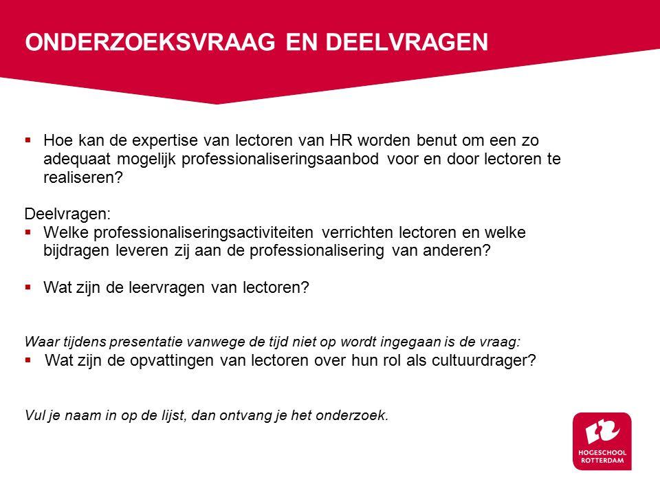1.Besteed meer tijd en aandacht aan professionalisering van onderzoek in onderwijs.