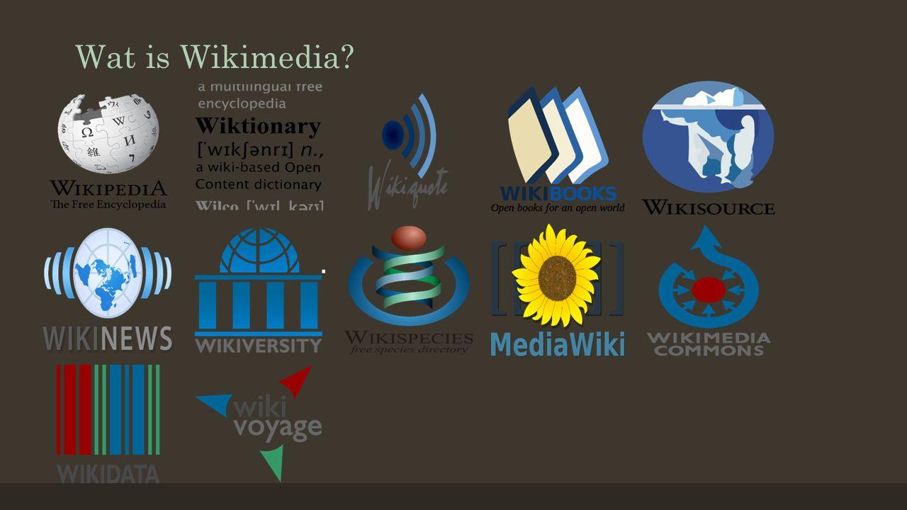 Wat is Wikimedia