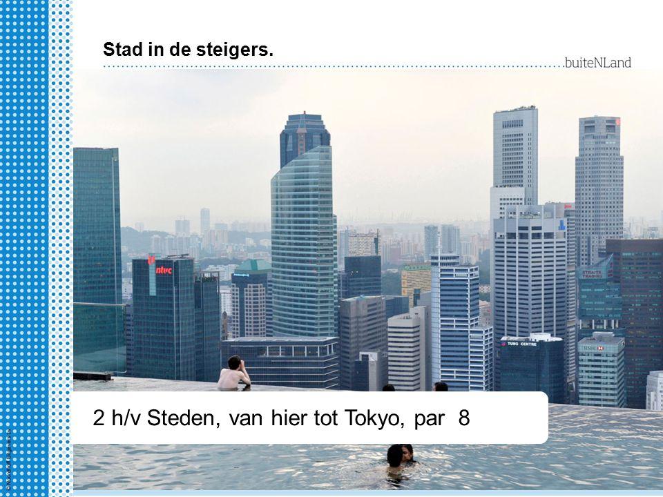 2 hv Steden, van hier tot Tokyo § 1-4 2 h/v Steden, van hier tot Tokyo, par 8 Stad in de steigers.