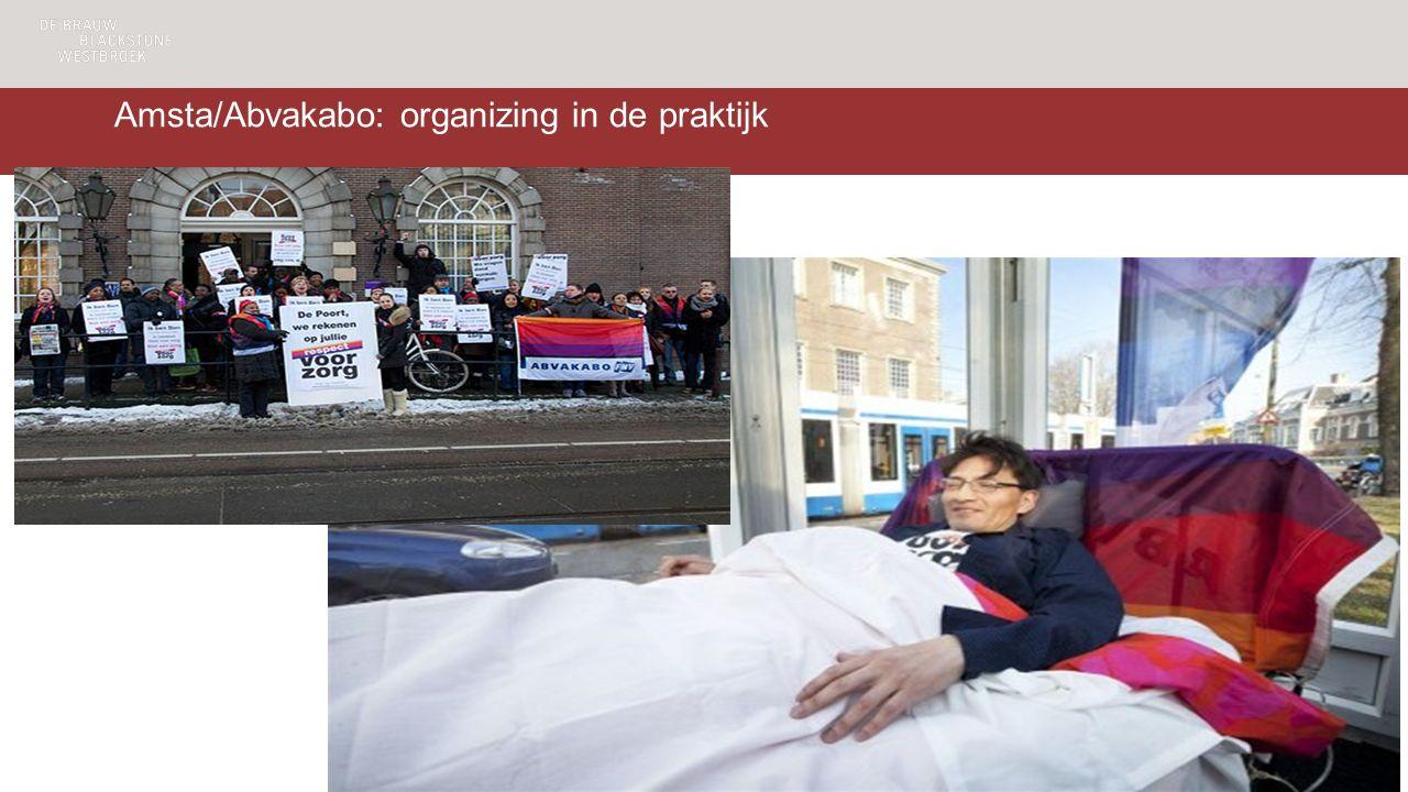 Amsta/Abvakabo: organizing in de praktijk