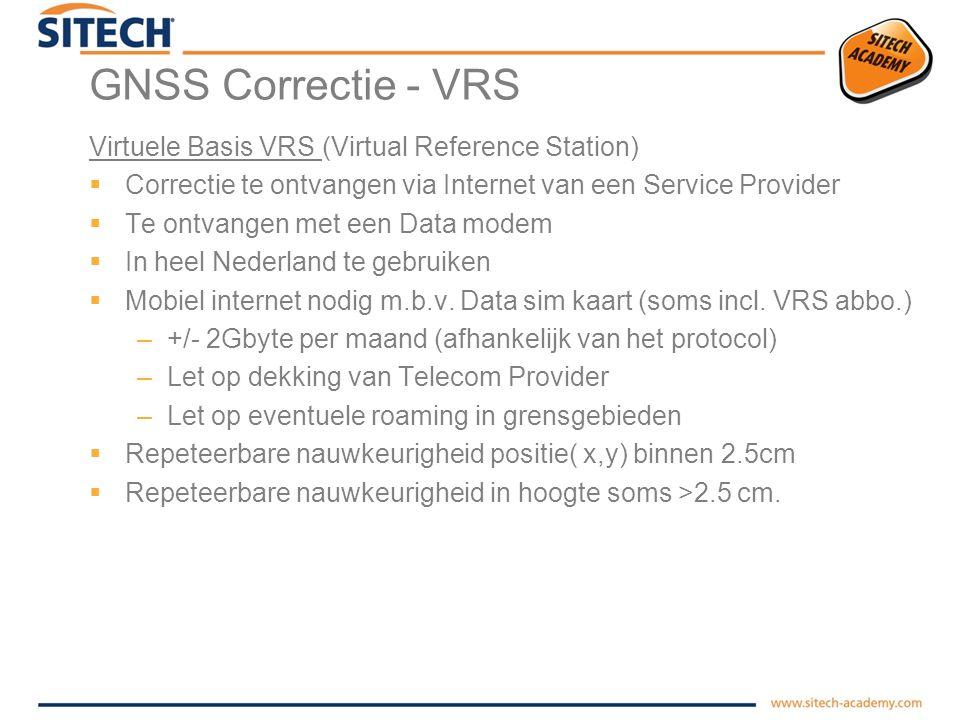 GNSS Correctie - Hoe werkt VRS