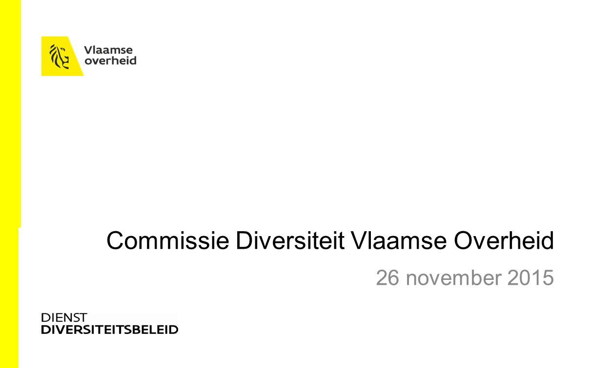 Strategisch Gelijkekansen en Diversiteitsplan 2016 – 2020 SD3Garanderen van gelijke kansen bij instroom, doorstroom en tewerkstelling OD 3.1.
