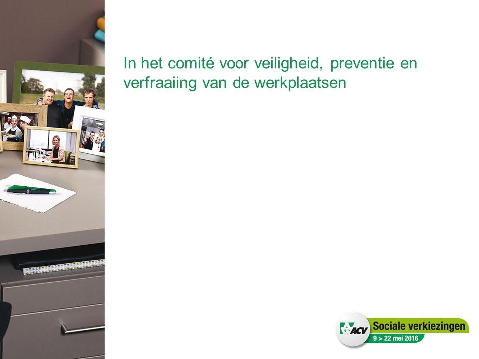 In het comité voor veiligheid, preventie en verfraaiing van de werkplaatsen