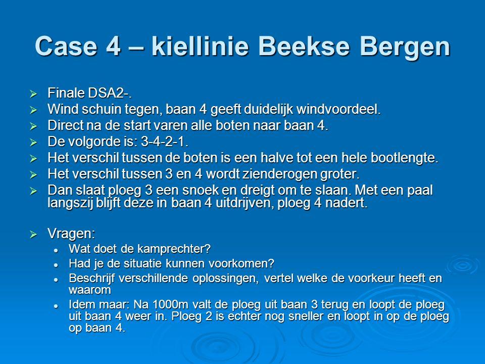 Case 4 – kiellinie Beekse Bergen  Finale DSA2-.