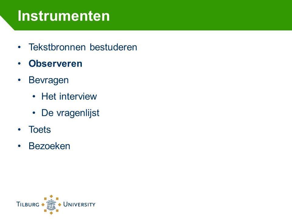 Qualtrics Software voor online enquêtes Beschikbaar gesteld door Tilburg University