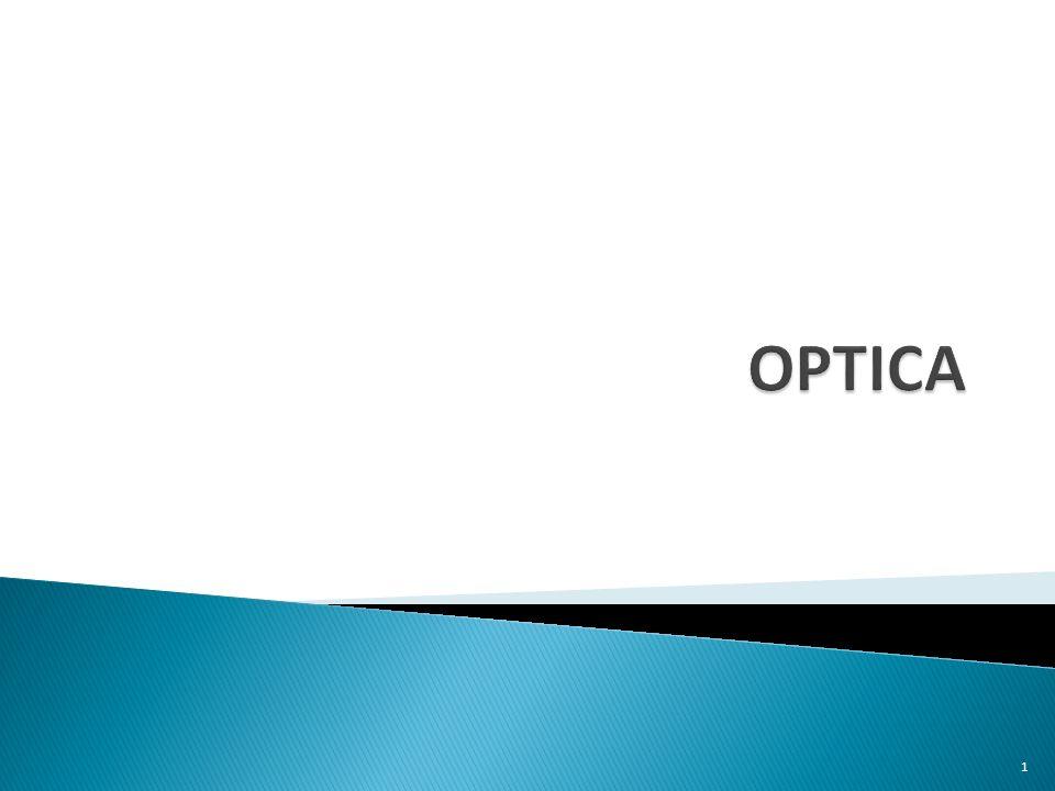  Optica is het deel van de fysica: ◦ dat eigenschappen van het licht beschrijft, ◦ en zich bezighoudt met de verschijnselen die zich voordoen als licht invalt op voorwerpen  Maar wat is licht.