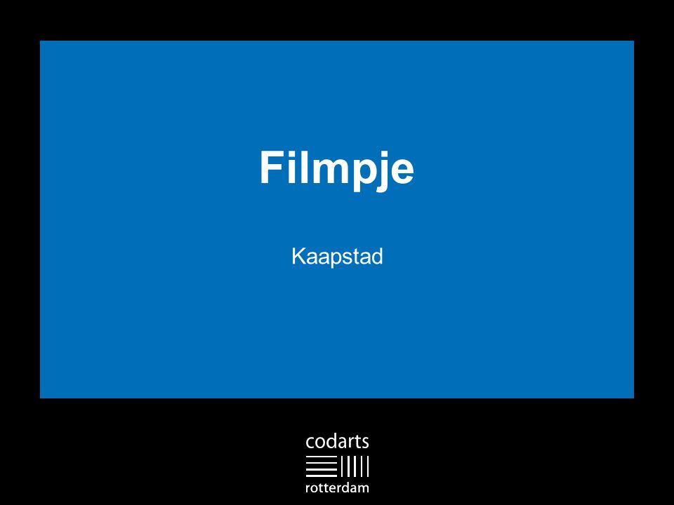 Filmpje Kaapstad