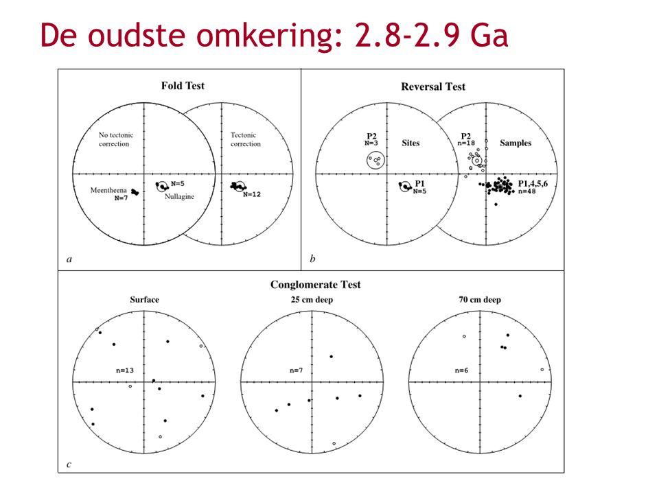 Nog oudere reversal (3.2 Ga) ? Layer et al. (2008)