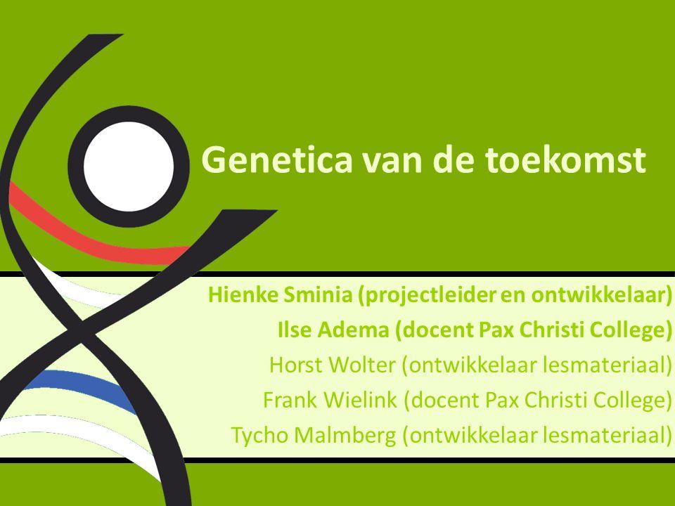 H-4: Hoe komen genen tot uiting.Wat betekent risico eigenlijk.