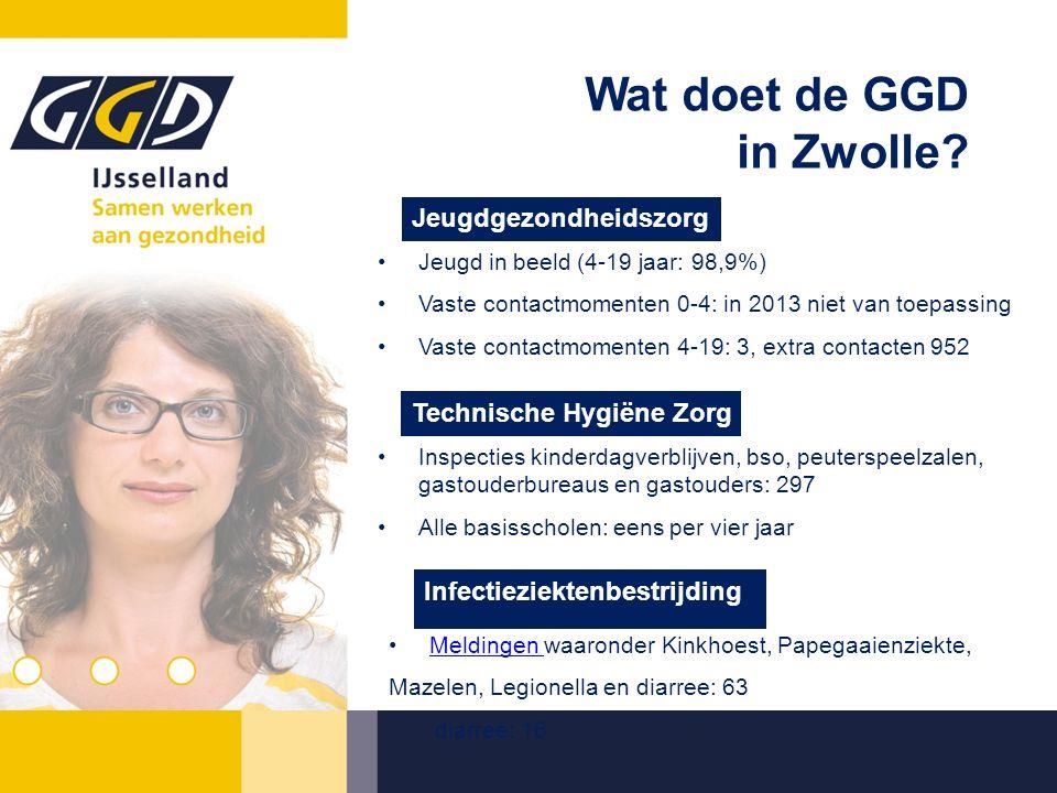 Wat doet de GGD in Zwolle.