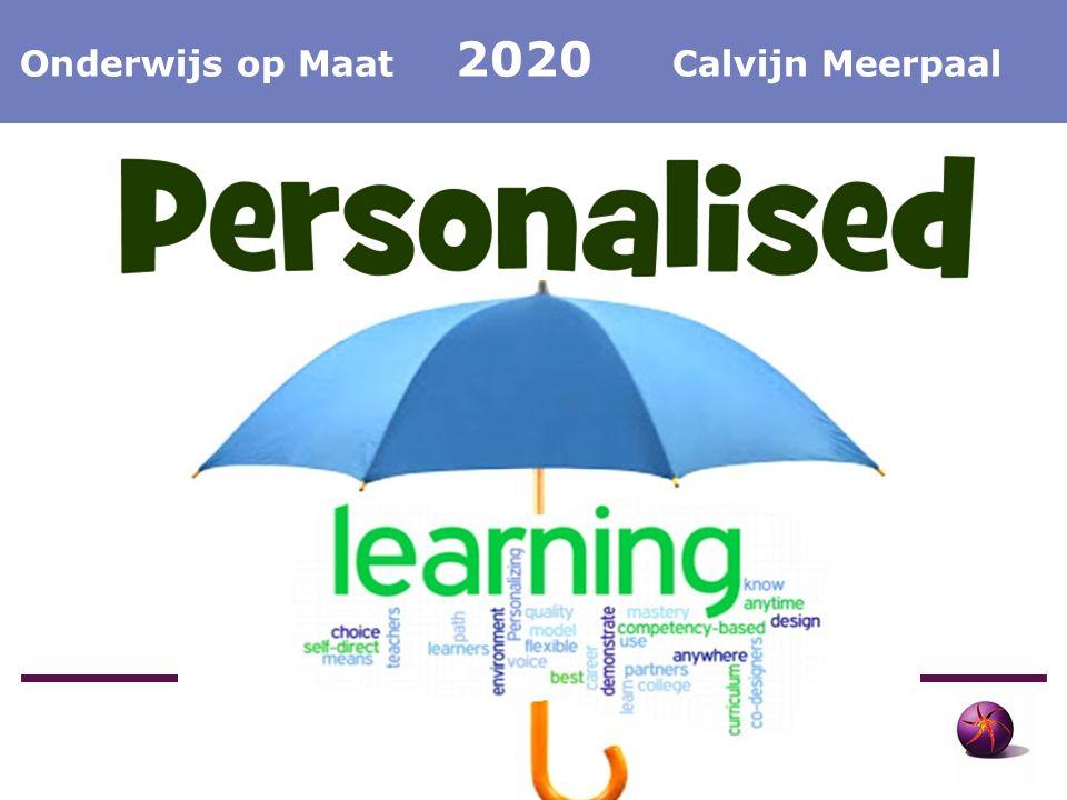 Calvijn Meerpaal Onderwijs op Maat Calvijn Meerpaal Onderwijs op Maat 2020 Calvijn Meerpaal