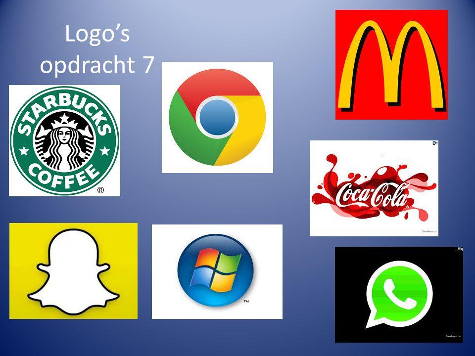 Logo's opdracht 7