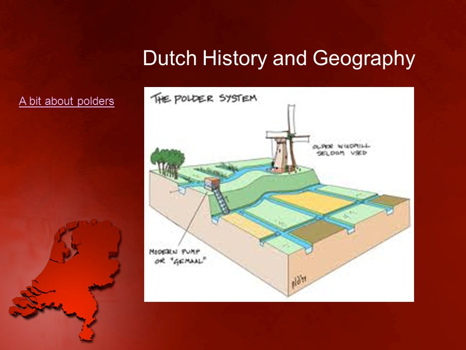 Dutch History and Geography https://www.youtube.com/watch?v=b0oTJVj MkSQ https://www.youtube.com/watch?v=ma8pCw PS-Uk