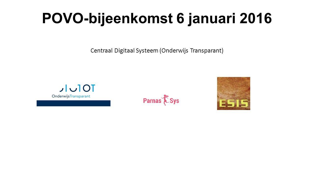 OSO klaarzetten (regionaal platform) 3 Klik op regionaal platform Klik volgende