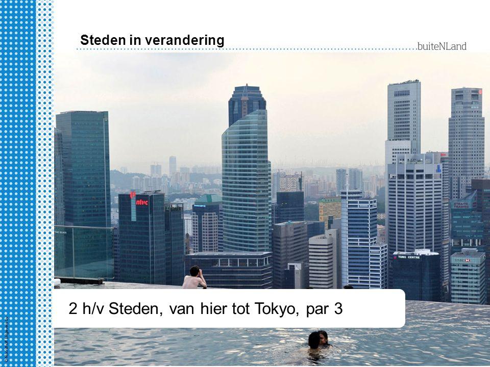 2 hv Steden, van hier tot Tokyo § 1-4 2 h/v Steden, van hier tot Tokyo, par 3 Steden in verandering