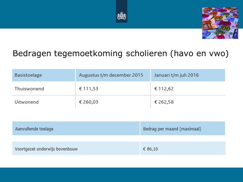 18 Aanmelden en studiefinanciering 2016-2017 Aanmelden studie in hoger onderwijs (2016-2017) online voor 1 mei 2016 via www.studielink.nl Aanvraag tegemoetkoming scholieren (indien 18 jaar voor 2 juli 2016) via aanvraagformulier op www.duo.nl Aanvraag studiefinanciering online drie maanden voor ingangsdatum via www.duo.nl DigiD met sms-controle nodig.