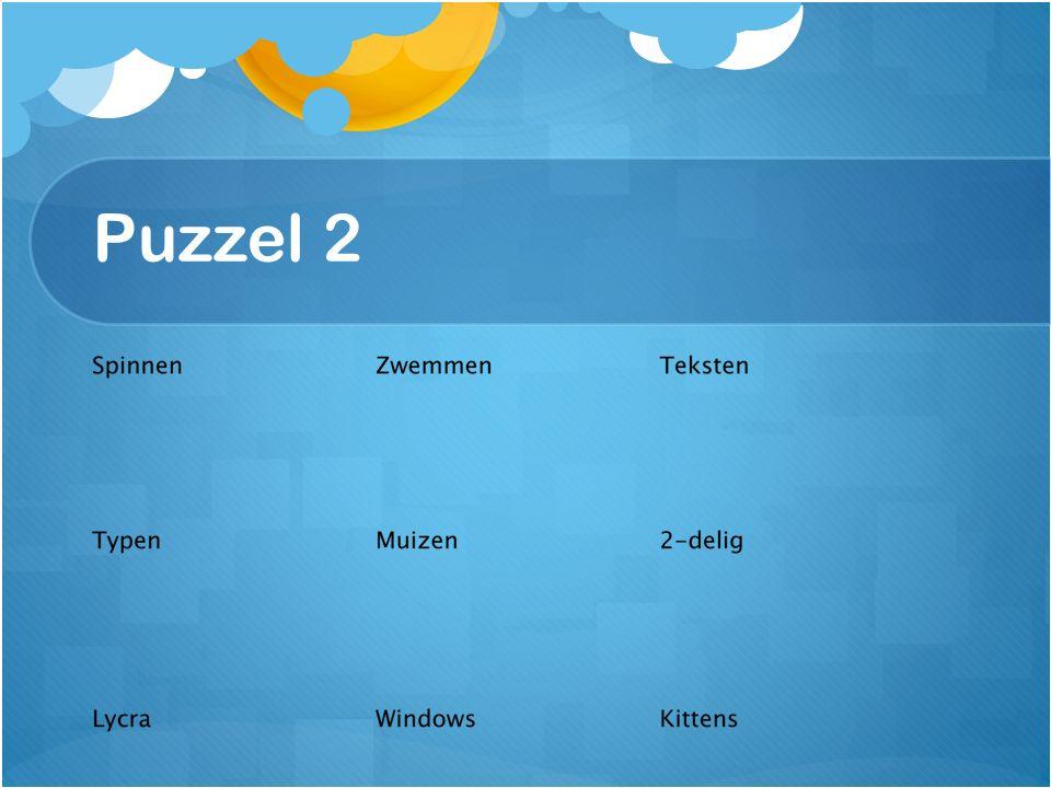Puzzel 2