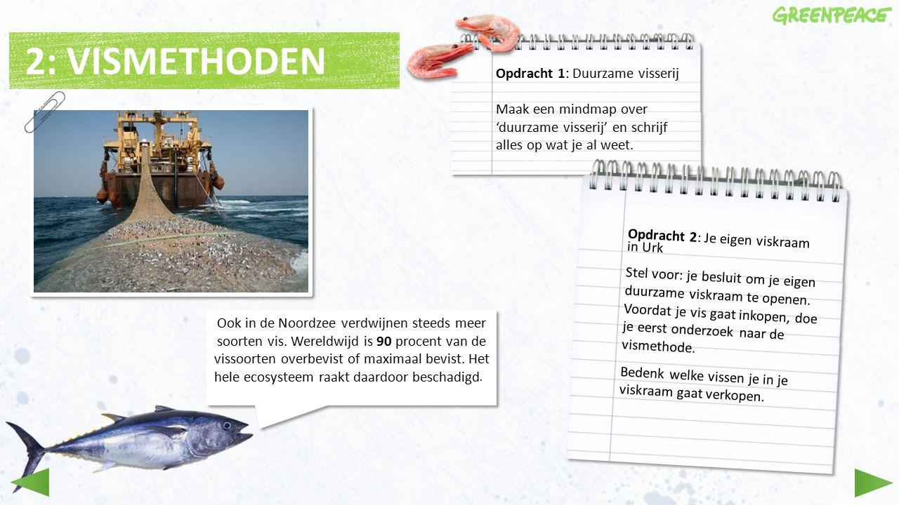 2: VISMETHODEN Ook in de Noordzee verdwijnen steeds meer soorten vis.
