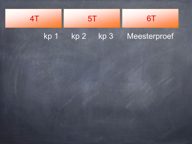 4T5T 6T Meesterproefkp 2 kp 3kp 1