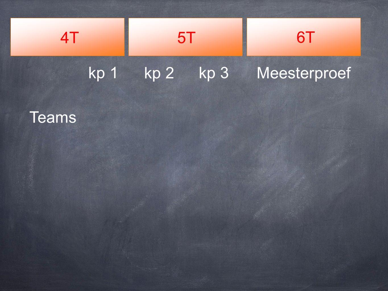 4T5T 6T Meesterproefkp 2 kp 3kp 1 Teams